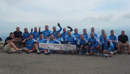 Team on Ventoux