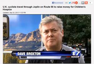 Dave Broxton on USA TV